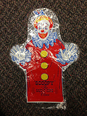 1950S/60S Scoopy The Safe T Cone Clown Hand Puppet