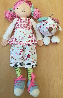 Gorgeous Emily Button Doll And Mousey From M&S