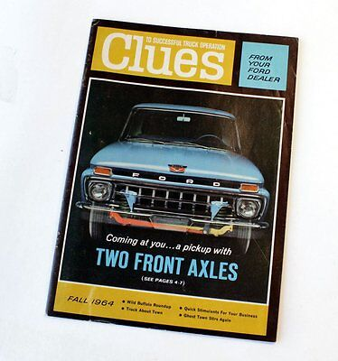 Fall 1964 Ford Dealer: Clues To Successful Truck Operation Magazine