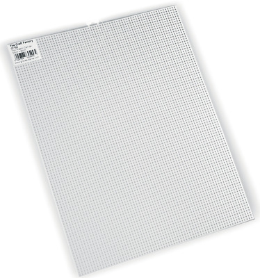 NEW | The Craft Factory CF1[29-30] | White Plastic Canvas with 7 Holes Per Inch