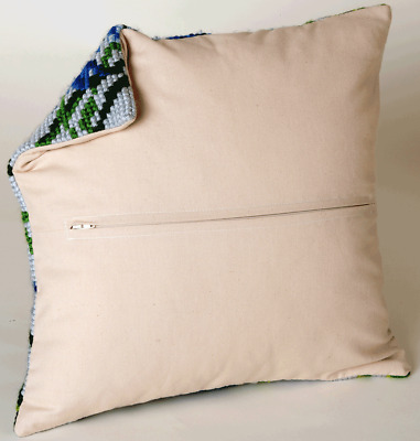 NEW   Collection D'Art CD5999 Cushion Backing Finishing Kit with Zipper 45½cm