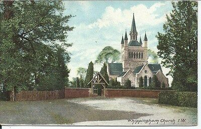 WHIPPINGHAM Church Isle of Wight IOW Postcard 1905 Postmark