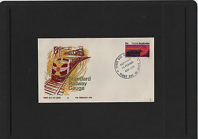 1970 Standard Railway Gauge Royal First Day Cover NSW Cancel