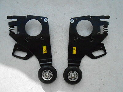 Permobil C300 FRONT CASTER SUPPORT WHEELS  Safety Anti Tip