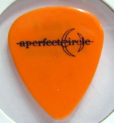 A PERFECT CIRCLE Maynard James Keenan 2000 Mer de Noms tour Guitar Pick