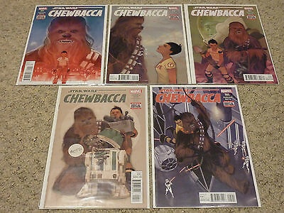 Star Wars: Chewbacca #1-5 by Gerry Duggan | Complete Marvel 2015 Series | NM