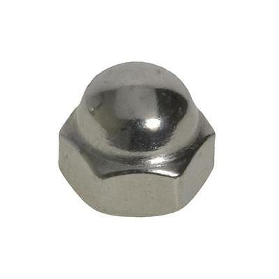 Dome Nut 2 Piece Welded M4 (4mm) Metric Coarse Acorn Hex Cap Stainless G304