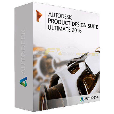 Autodesk Product Design Suite 2016 Ultimate - Einzelplatzlizenz