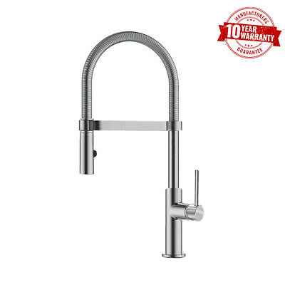 Franke Coxy Pull-Out Spray Chrome Kitchen Tap Single Lever Handle - Alternative