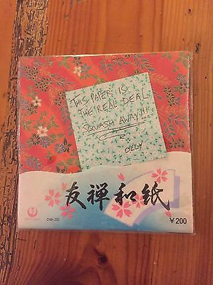 Origami paper (30 sheets - authentic, from Japan)