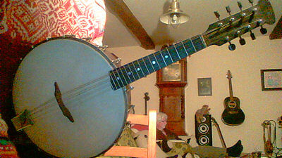 Vintage Clifford Essex Banjo Mandolin fully playing .