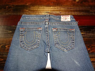 17491 ~  Womens TRUE RELIGION  Denim Jeans ~ Ladies size 28