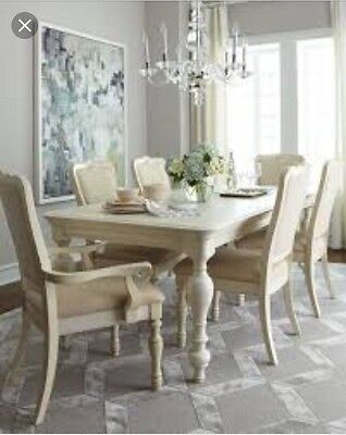 Coventry Dining Table Set Ivory Neiman Marcus Horchow