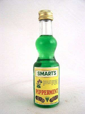 Miniature circa 1992 SMART'S PIPPERMINT Isle of Wine