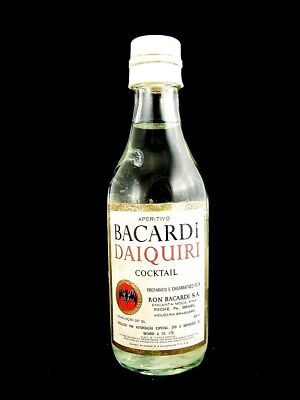 Miniature circa 1973 BACARDI DAIQUIRI Cocktail (Brazil) Isle of Wine