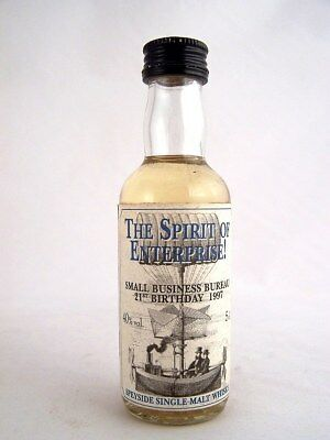 Miniature circa 1997 SPEYSIDE SINGLE MALT WHISKY Isle of Wine
