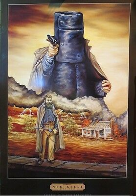 """Ned Kelly Poster """"Brand New"""""""