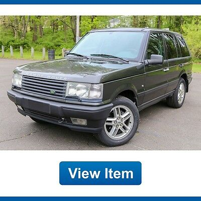 2002 Land Rover Range Rover HSE 2002 Land Rover Range Rover HSE V8 AWD Low 78K Miles Rare Loaded