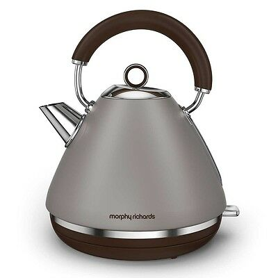 Morphy Richards 102102 Accents Special Edition Kettle Rapid Boil 1.5L Pebble