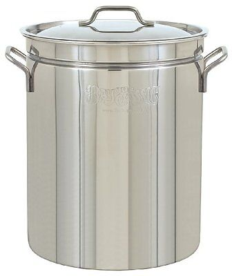 Bayou Classic 1060 62qt Stainless-Steel Stockpot Stockpots, New