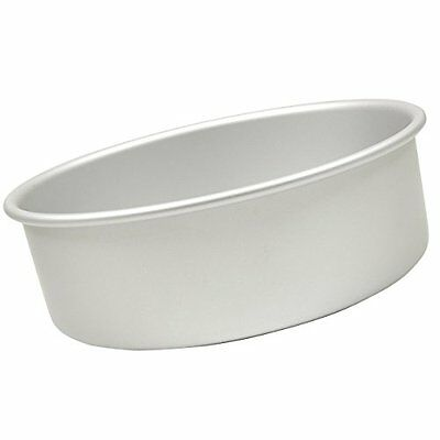Fat Daddio's Anodized Aluminum Round Cake Pan 12in x 4in Round, New