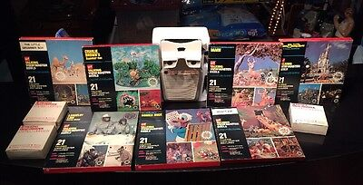 Vintage GAF Talking View-Master With 6 Reel Sets And Lots Of Extras