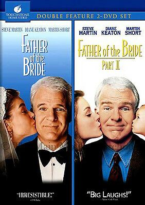 Father of the Bride and Father of the Bride Part II 2 Movie Double Feature DVD