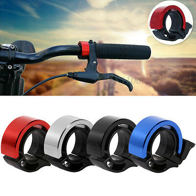 Bike Bicycle Invisible Bell Aluminum Alloy Loud Sound Handlebar Safety 90db Horn