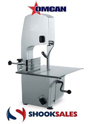 """Omcan BS-IT-1981-S 10275 Italian Made Commercial Table Top Meat Band Saw 78"""" NY"""