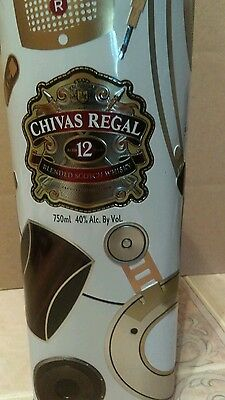 Chivas Regal Whisky 12 years Canister Box limited edition Generosity Amplified