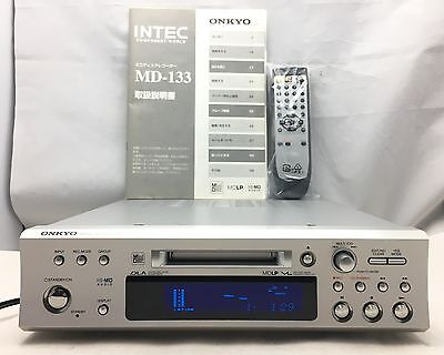 ONKYO Hi-MD Mini Disc Recorder [INTEC MD133] From Japan With tracking number F/S