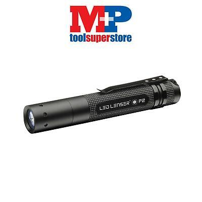 LED Lenser 8402 P2BM Black Key Ring Torch Gift Box