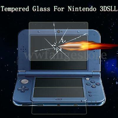 Tempered Glass LCD Screen Film Protector Guardian For Nintendo 3DS XL LL 2014