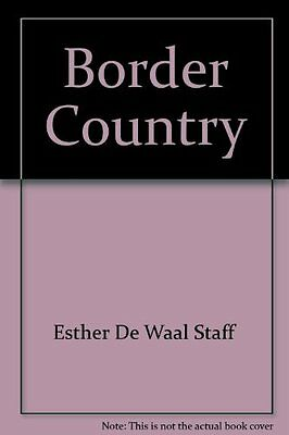 Living on the Border by Waal  Esther De Paperback New  Book