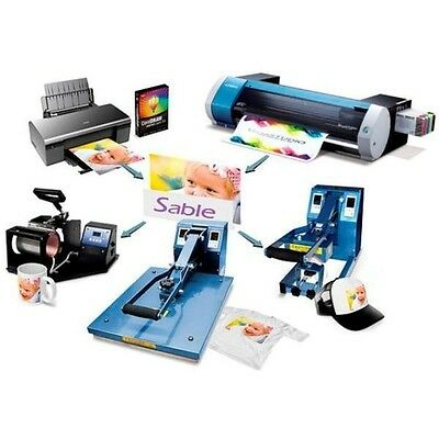 Buisness Startup Package Sublimation Heat Press Print  T-Shirts Mugs Hats