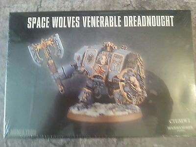 Warhammer 40K Space Wolves Venerable Dreadnought / Murderfang - New & Sealed