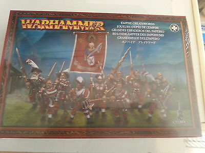 Warhammer Fantasy / Age Of Sigmar Empire Greatswords - New And Sealed