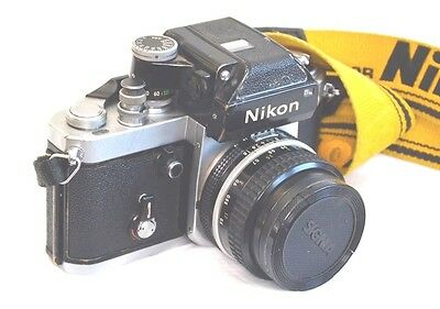 Nikon F2 Photomic DP-1 finder Film Camera Body Only.