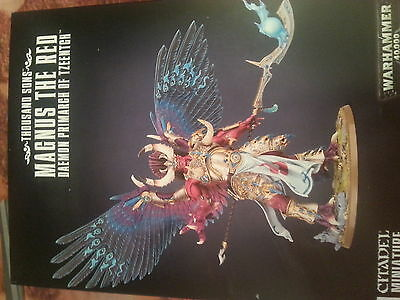 Warhammer 40K Thousand Sons Magnus The Red Daemon Primarch - New & Sealed