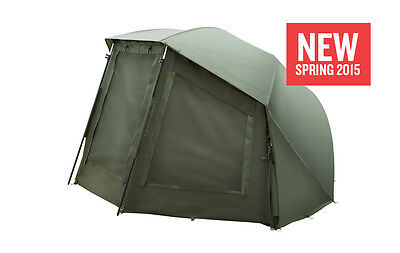 Trakker MC-60 Fishing Bivvy Brolly Groundsheet Insect Panel Centre Pole