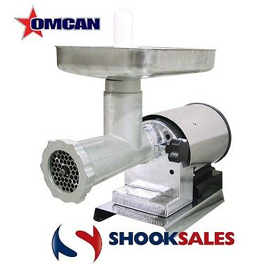 Omcan 41421 Commercial Restaurant 22 Moderate duty Elite 1.25 Meat Grinder NY