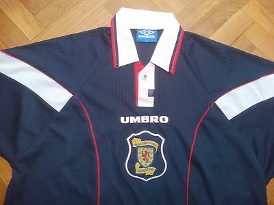 UMBRO vtg Scotland Escocia camiseta soccer retro vintage 1998 shirt football