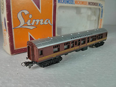 Lima  Carrozza Passeggeri Dining Car Pennsylvania Scala N