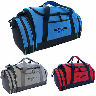 Mens Ladies Sports Gym Travel Duffle Weekend Overnight Holdall Hand Luggage Bag