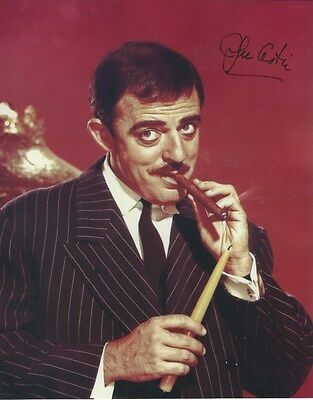 John Astin The Addams Family Hand Signed Autographed Photo Uacc Rd 288