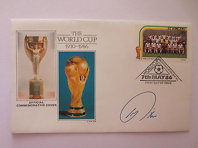 Official England 1986 Fifa World Cup In Mexico Postal Cover With Stamps, Fa
