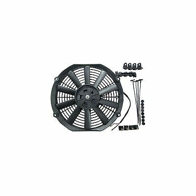 "12"" 24v Pull Type Radiator Cooling Fan With Straight Blades + Mounting Kit"