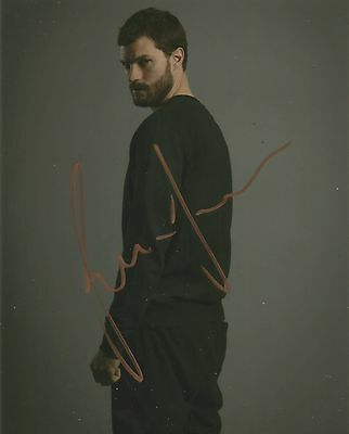 Jamie Dornan Signed The Fall 10x8 Photo With Proof AFTAL