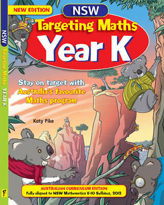 Targeting Maths NSW Student Book Year K NEW Pascal Press 9781742151342