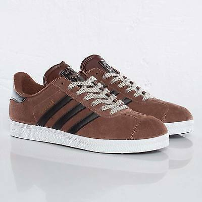 adidas Originals Gazelle II Brown Suede Trainers / Shoes G63206 - UK Size 5.5